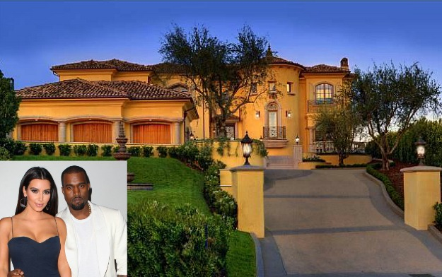 Kim-Kardashian-and-Kanye-West-new-Bel-Air-house