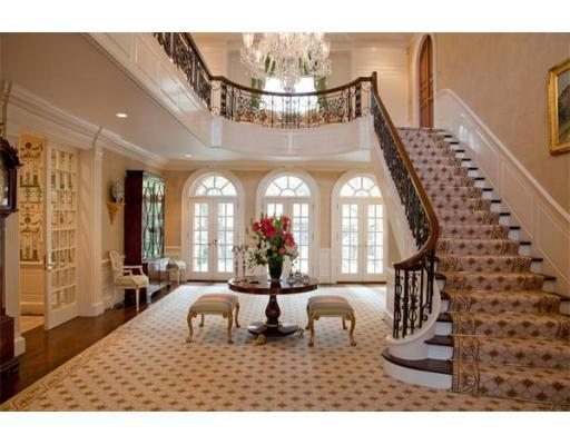 200 Pond Rd. Wellsley Georgian Colonial on 9 Acres. List Price: $6,950,000.00