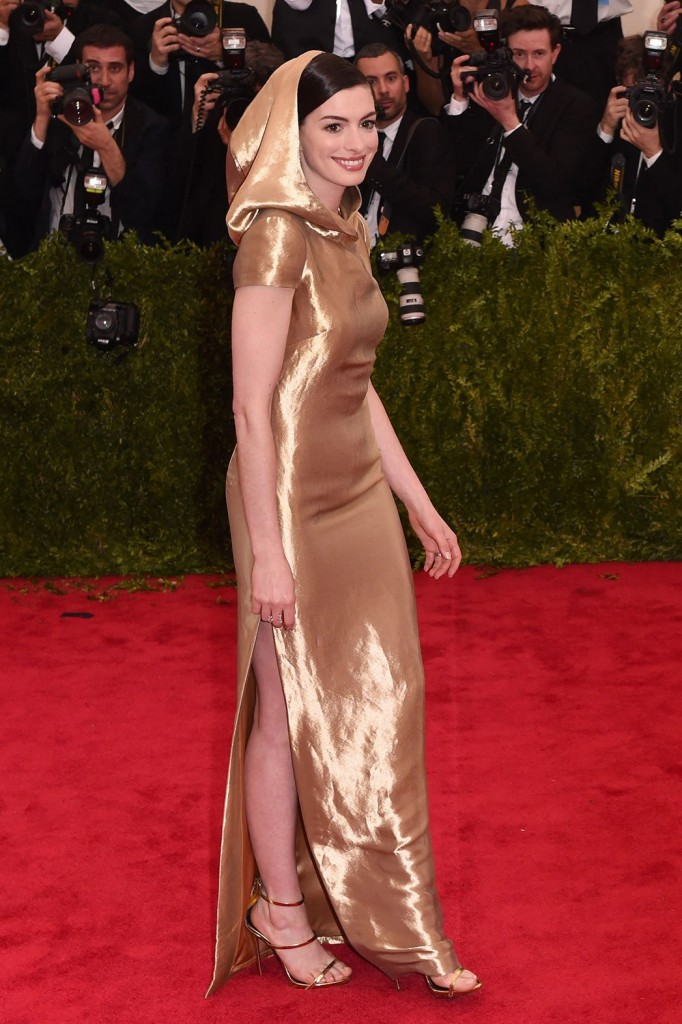 Burlap sack dress